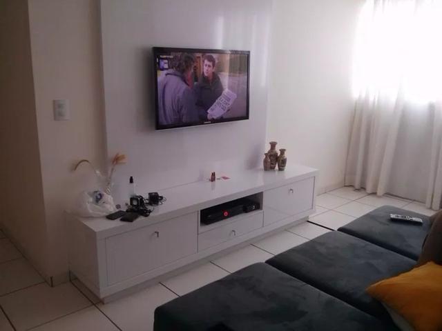 Imagem de Suporte Fixo Para Tv Tcl Aoc Cce Jvc 18 19 20 21 Polegadas