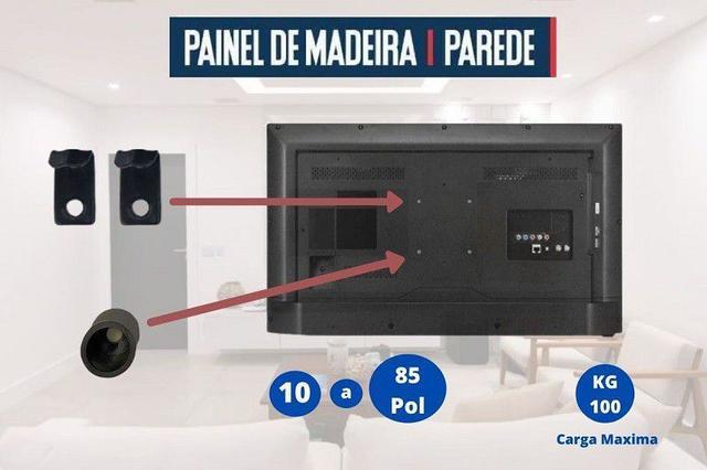 Imagem de Suporte Fixo Pra Tv 32 Até 70 Polegadas Painel / Parede