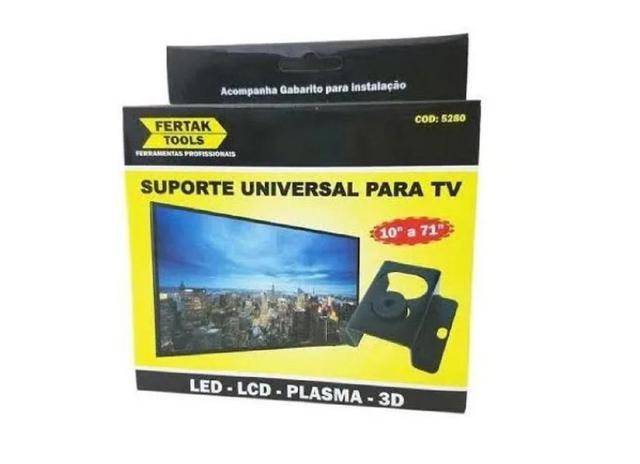 Imagem de Suporte Fixo Tv Led Lcd 20 24 32 40 42 50 55 60 71 Polegadas