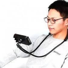 Imagem de Suporte Flexível Celular Colar Apoio Pescoço