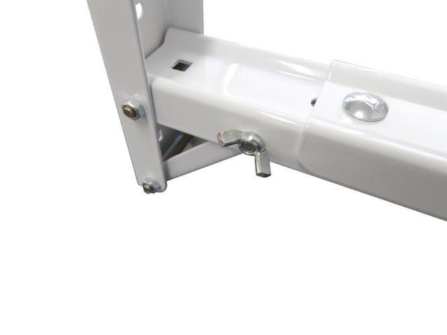 Imagem de Suporte microondas novo branco - c/ braço ajustável