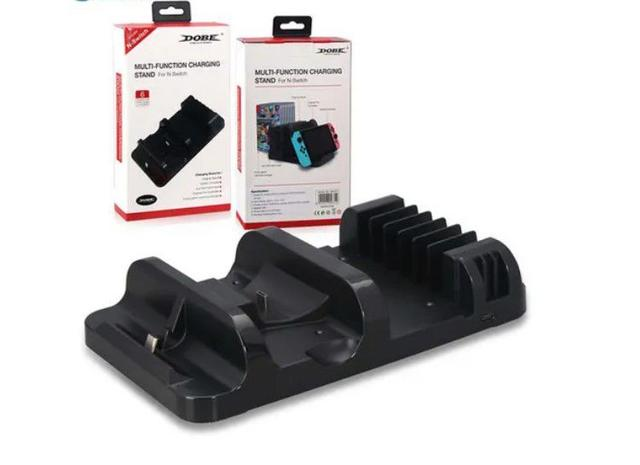 Imagem de Suporte Multifuncional Nintend Switch Dock Carregador Stand