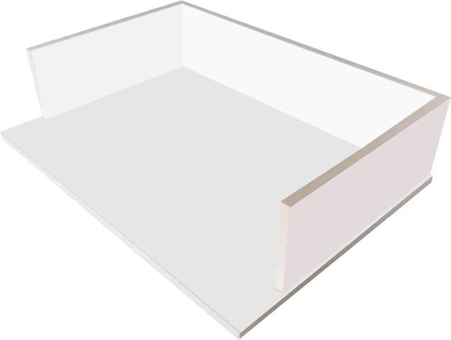 Imagem de Suporte P\micro-ondas\ Forno Elétrico Impressora 60cm- Mdf Branco