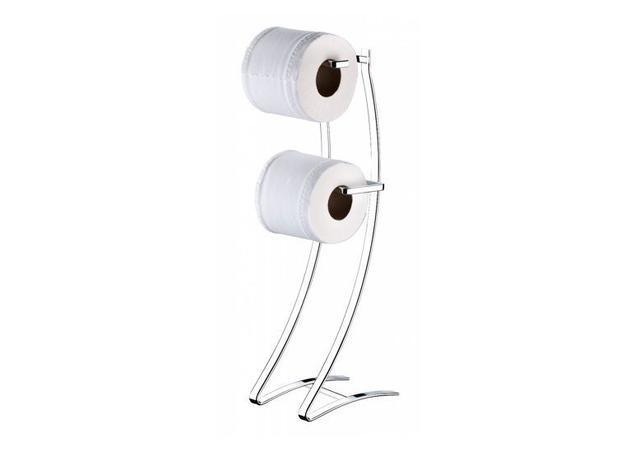 Imagem de Suporte papel higienico chao piso papeleira banheiro Future 1030