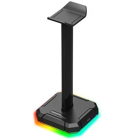 Imagem de Suporte para Headset Redragon Scepter Pro RGB Chroma Hub 4x USB 2.0