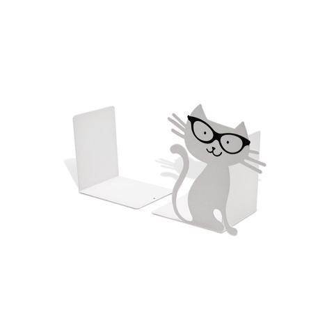Imagem de Suporte para Livro Bibliocanto Gato Branco Ref.: 2401 2 UN