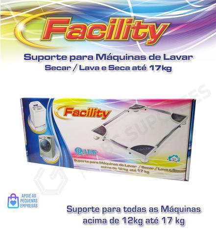 Imagem de Suporte para Máquina de Lavar/ Secar / Lava e Seca 12 à 17kg