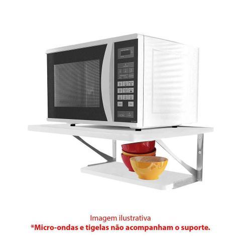 Imagem de Suporte Para Micro-ondas 2Z-UV-BR Tipo Prateleira da Multivisão.