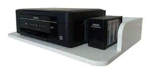 Imagem de Suporte para Microondas / impressora Mdf Com cantos arredondados