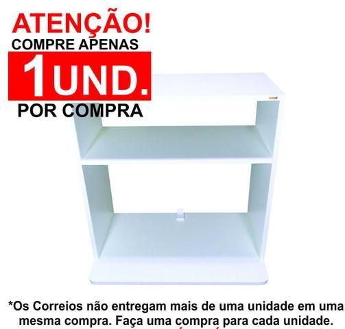 Imagem de Suporte para microondas Madeira em MDF Nicho Prateleira 60x58x40