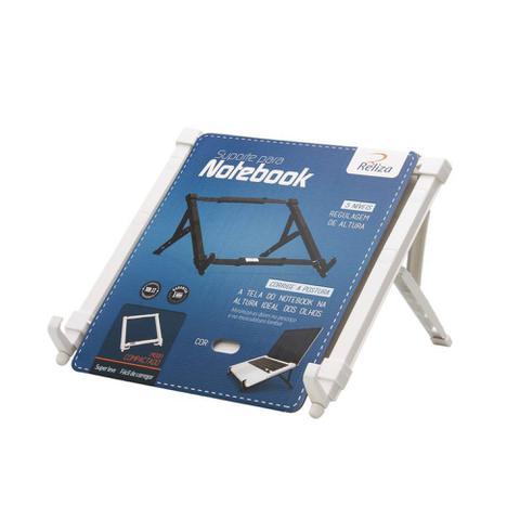 Imagem de Suporte para Notebook 5 nível de Altura Reliza branco