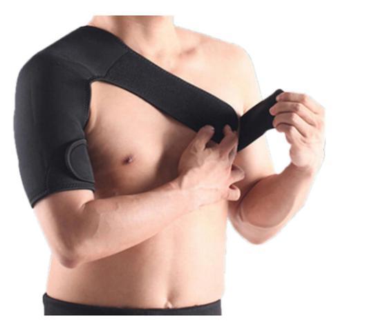 Imagem de Suporte para ombro em neoprene ajustavel