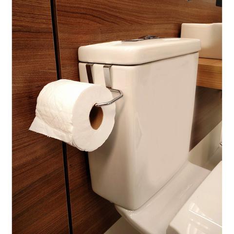 Imagem de Suporte para Papel Higienico Caixa Acoplada 1 Rolo em Aço cromado - 264 - Duler
