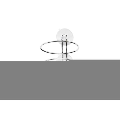 Imagem de Suporte para Secador de Cabelo Cromado
