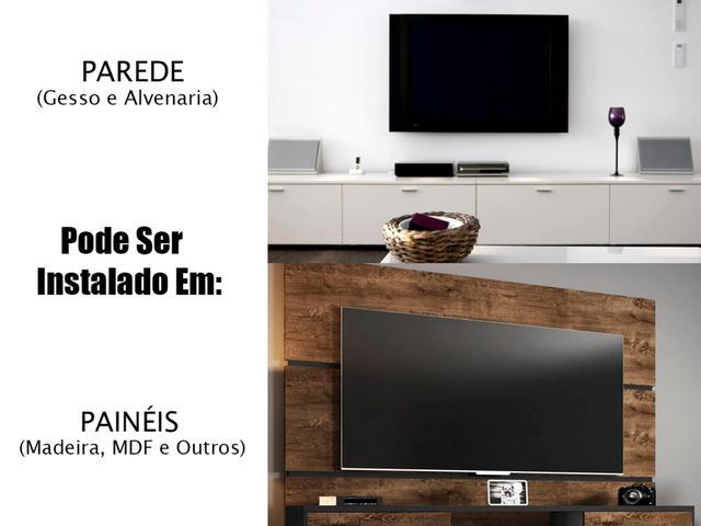 Imagem de Suporte Para Tv 25 A 55 Pol Samsung LG Sony Philco Philips Preto