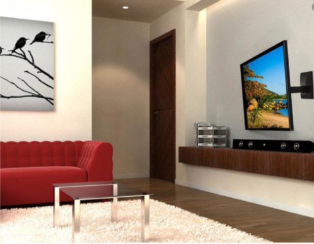 Imagem de Suporte Para Tv Movel 47 50 55 58 60 Pol Samsung LG Sony
