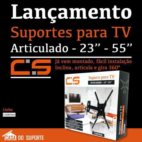 Imagem de Suporte Parede Articulado p/ TV LED, LCD, Plasma, 3D, Smart TV E 4k 10