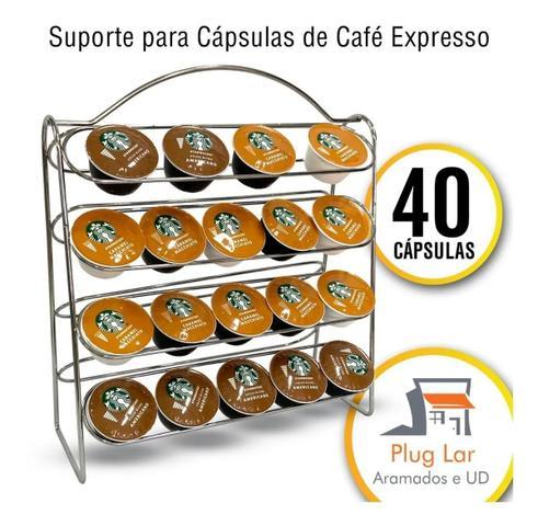 Imagem de Suporte Porta 40 Cápsulas Cafe Dolce Gusto Café Expresso