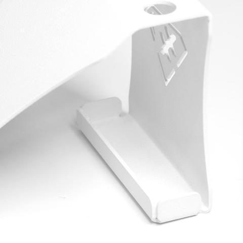 Imagem de Suporte Porta Celular/Caneta de Mesa - Alumínio - Branco