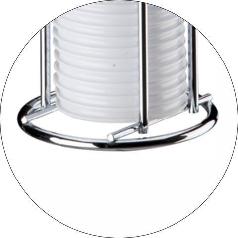 Imagem de Suporte Porta Copos Descartáveis 50 E 80 ml De Bancada - Cromado