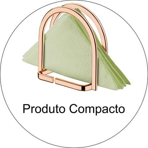 Imagem de Suporte Porta Guardanapos de Mesa Pequeno Cobre Rosé Gold