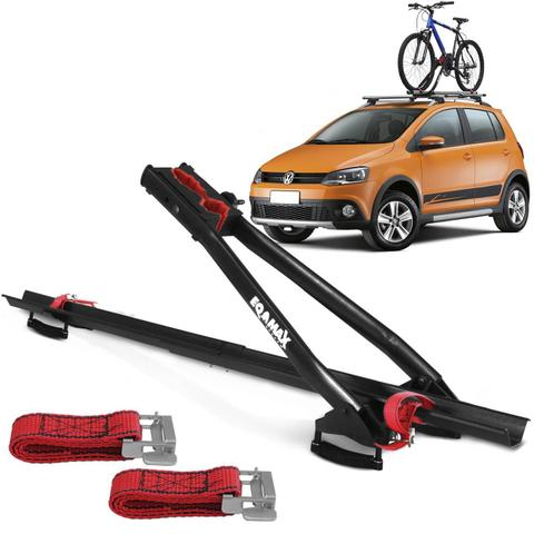 Imagem de Suporte Transbike de Bicicleta Rack de Teto Eqmax Velox Preto 1 Bike