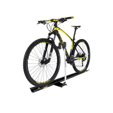 Imagem de Suporte Transbike de Bicicleta Rack de Teto Universal Prata Projecar 1 Bike Carga 17Kg