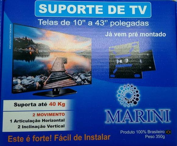 Imagem de Suporte TV e Monitor Articulado Universal Até 43 Polegadas