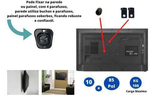 Imagem de Suporte Universal Fixo De Painel Pra Tv 32 40 50 55 60 70 80