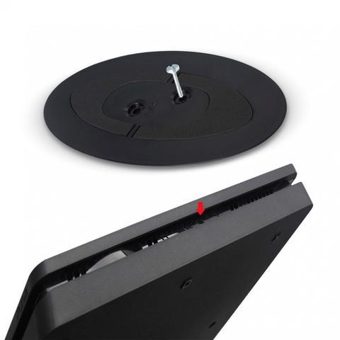 Imagem de Suporte Vertical Slim E Pro - Preto - PlayStation 4 video game