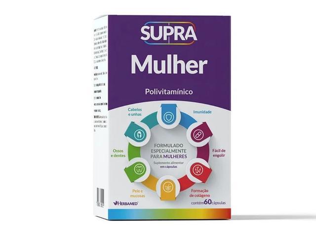 Imagem de Supra Mulher Vitamina Completa Para Mulheres Zero Açucar 60c