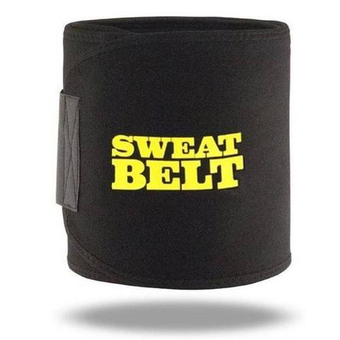 Imagem de Sweat Belt Cinta Modeladora Emagrecedora Abdominal Afina Cintura Reduz Medidas