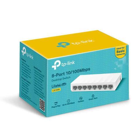 Switch Com 8 Portas Ls1008 Tp-link
