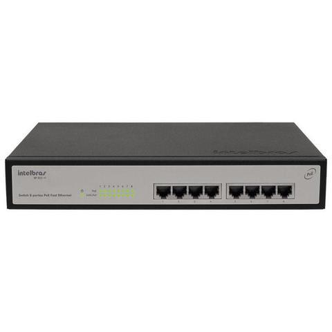 Switch Com 8 Portas Sf802af Intelbras