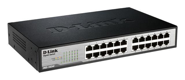 Switch Com 24 Portas Dgs-1024c D-link
