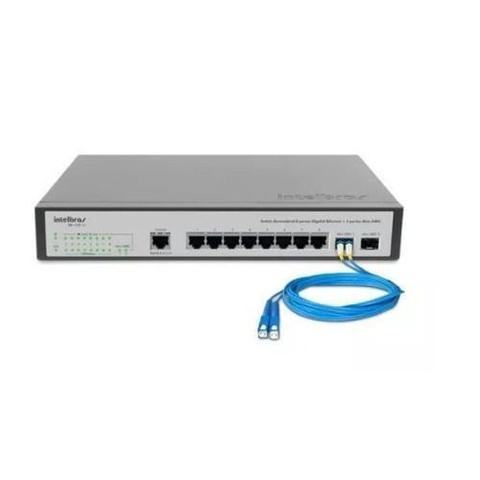 Switch Com 8 Portas Sg1002mr Intelbras