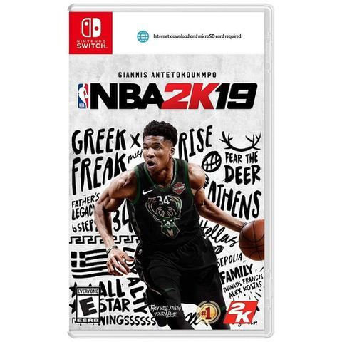 Jogo Nba 2k19 - Switch - 2k Sports