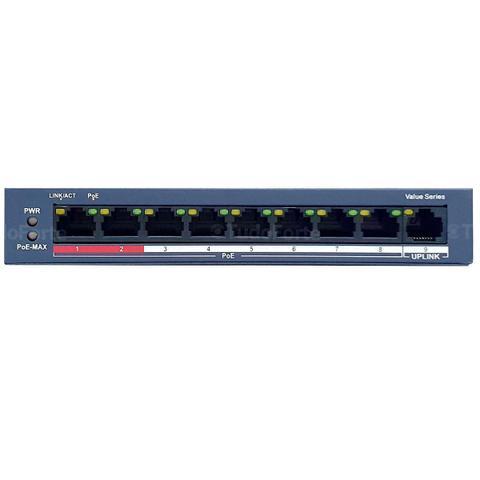 Switch Com 8 Portas Ds-3e0109p Hikvision