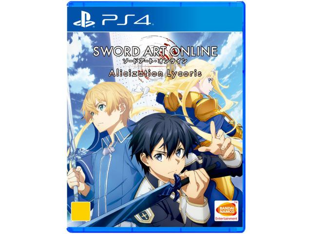 Jogo Sword Art Online: Alicization Lycoris - Playstation 4 - Bandai Namco Games