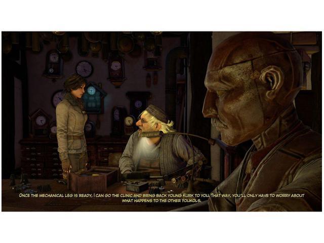 Imagem de Syberia 3 para PS4