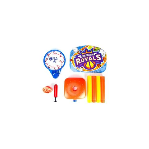 Imagem de Tabela de basquete cesta infantil portatil ajustavel completa até 115cm com bola e bomba para crianças