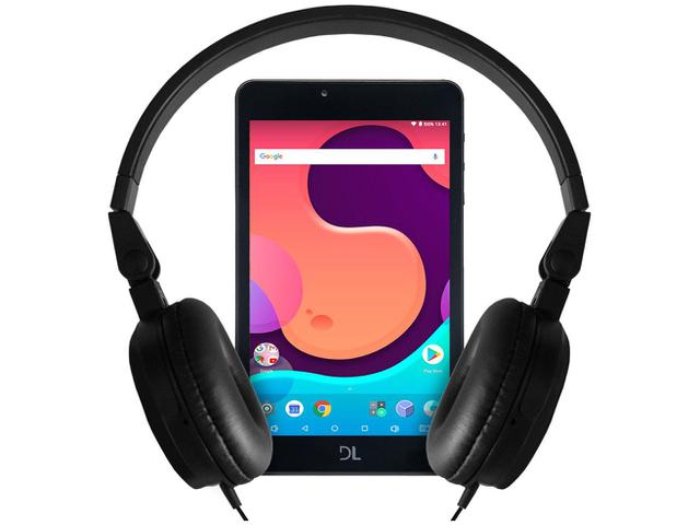 "Imagem de Tablet DL Creative Tab com Headphone 8GB 7"" Wi-Fi"