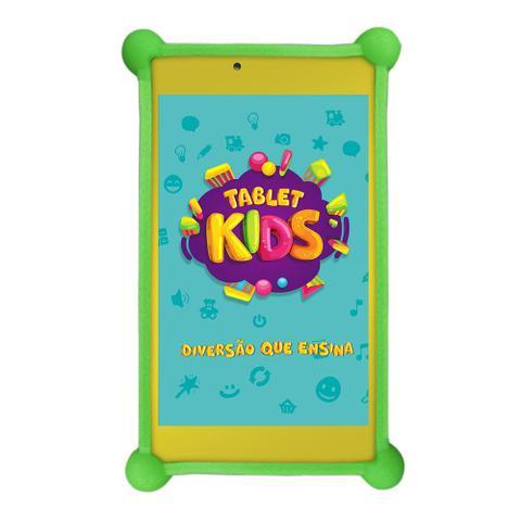 Tablet Dl Kids Tx394bbv Branco 8gb Wi-fi
