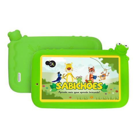 Imagem de Tablet DL Sabichoes Wi-Fi Quad Core 8GB
