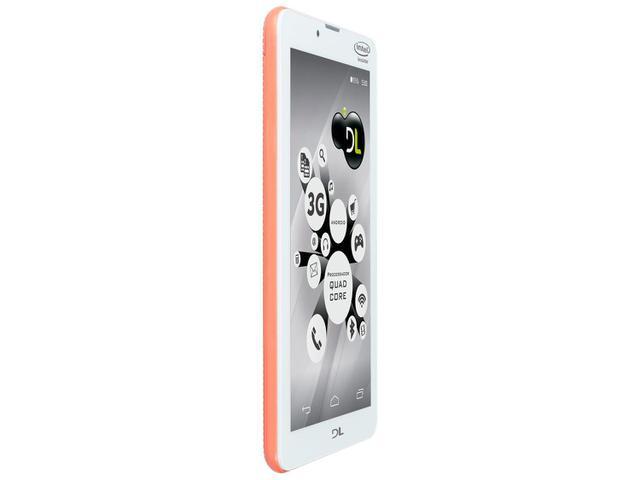 """Imagem de Tablet DL Tecphone 610 8GB 7"""" 3G Wi-Fi"""