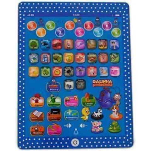 Imagem de Tablet Galinha Pintadinha Educacional Infantil 15  Multifunções (13716)