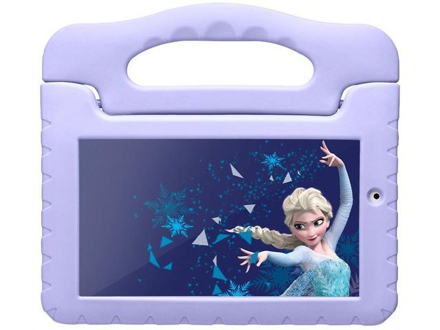 Imagem de Tablet Infantil Multilaser Frozen Plus com Capa