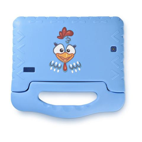 Imagem de Tablet Infantil Multilaser Galinha Pintadinha Plus 16Gb Câmera Integrada Android Azul - NB311