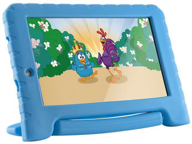 Imagem de Tablet Infantil Multilaser Galinha Pintadinha Plus 8GB Tela 7