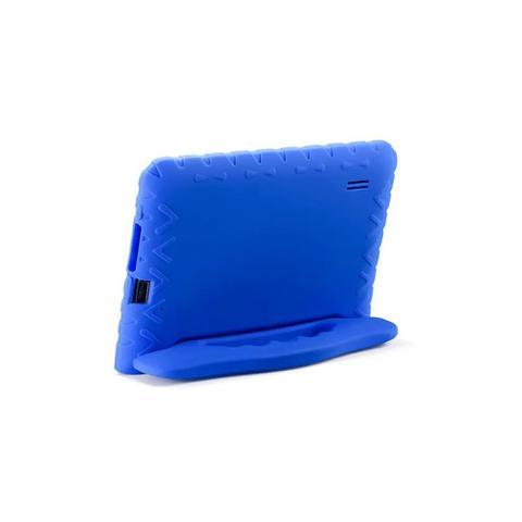 Imagem de Tablet Infantil Multilaser NB302 com Capa Azul Wi-Fi para Criança Aulas Online Youtube Netflix Jogos